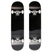 02 - Rampage Plain Third Black Pro Complete Skateboard