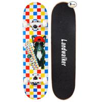 04 - Landwalker Pro Cruiser Complete Girl Skateboard 31x8 Inch Skateboards Skateboard