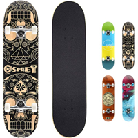 06 - Osprey Double Kick Complete Skateboard
