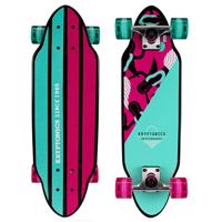 07 - Kryptonics Mini Cutaway Cruiser Skateboard