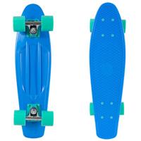 09 - Retrospec Quip Skateboard 22.5 Classic Retro Plastic Cruiser Complete Skateboard