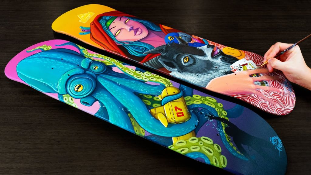 Style your Skateboard deck
