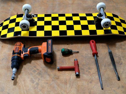 Make The Actual Skateboard