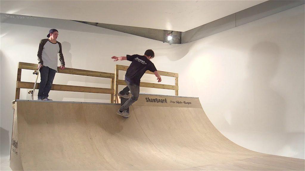 how to buld skateboard ramp for kids