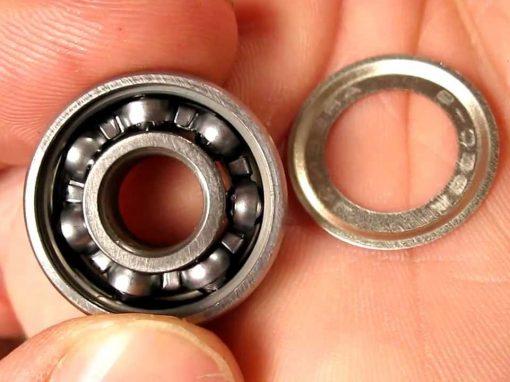 how to make skateboard bearing